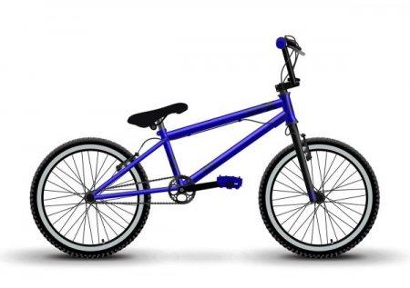 Велосипед KRIT X Y2021-1 (Хромированный синий)