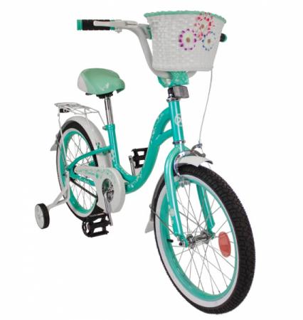 Велосипед FLORINA-N16-2 (зелёно-белый)