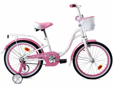 Велосипед FLORINA-N18-1 (бело-розовый)