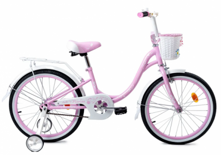 Велосипед FLORINA-N20-3 (розово-белый)