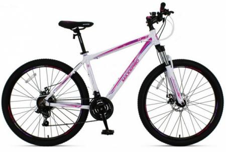 Велосипед HARD 27.5 N2701-5 (бело-фиолетовый)