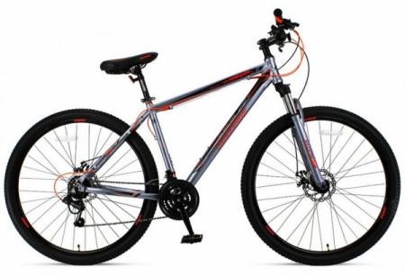Велосипед HARD 29 N2901-2 (серо-оранжевый)