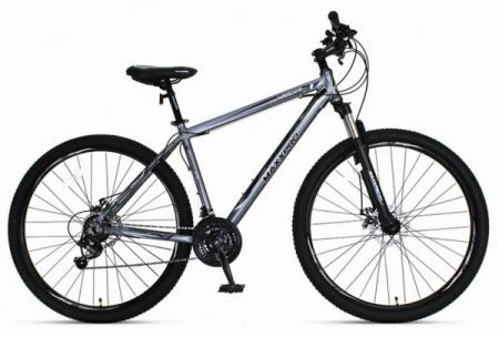 Велосипед HARD 29 N2901-3 (серо-чёрный)